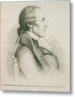 Granville Sharp 1735-1813, English Metal Print by Everett
