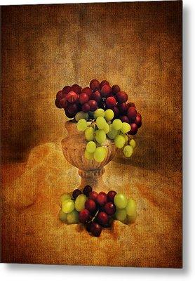 Grapes Metal Print by Jai Johnson