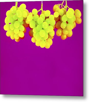 Grapes Metal Print by Johnny Greig