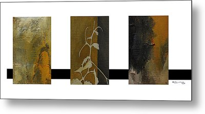 Grapevine Compositional Collage Metal Print by Xoanxo Cespon