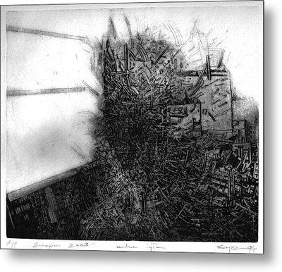 Graphis Art Eurpa 2003 Metal Print by Waldemar Szysz