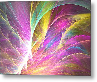 Grass Of Dreams Metal Print by Sipo Liimatainen