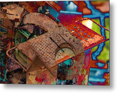 Grated Metal Print by Robert Glover