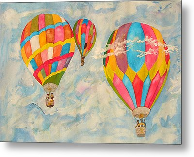 Great Day To Fly Metal Print by Joy Braverman
