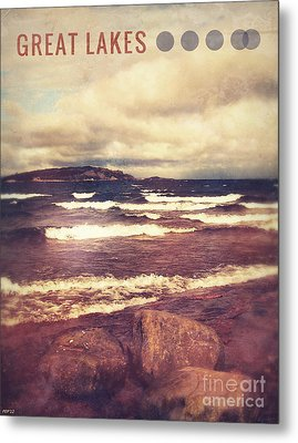 Metal Print featuring the photograph Great Lakes by Phil Perkins