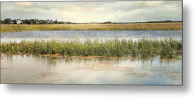 Metal Print featuring the photograph Great Marsh by Karen Lynch