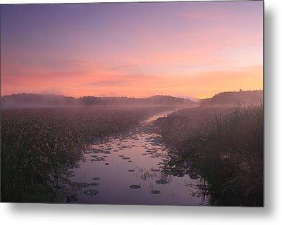Great Meadows National Wildlife Refuge Dawn Metal Print by John Burk