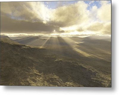 Great Valley Metal Print by Mark Greenberg