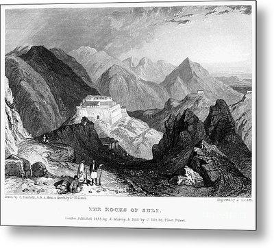 Greece: Souli, 1833 Metal Print by Granger