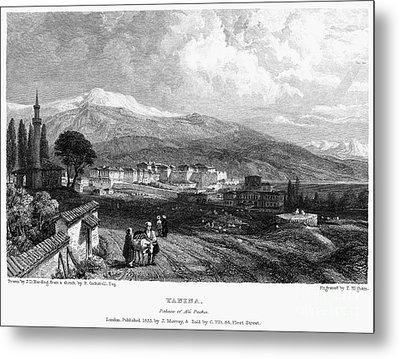 Greece: Yanina, 1833 Metal Print by Granger