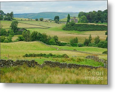 Green Hills Of Galloway Metal Print by John Kelly