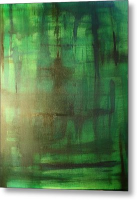 Green Meadow Metal Print