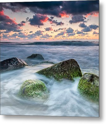 Green Stones Metal Print by Evgeni Dinev