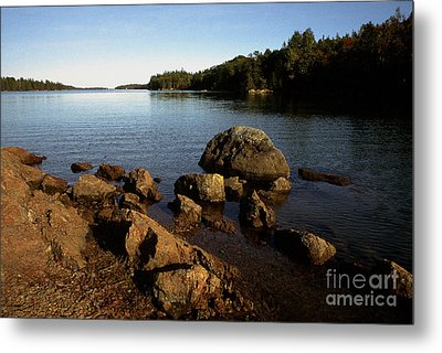 Greenlaw Cove Deer Isle Maine Metal Print by Thomas R Fletcher