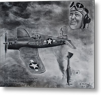 Gregory Pappy Boyington Metal Print
