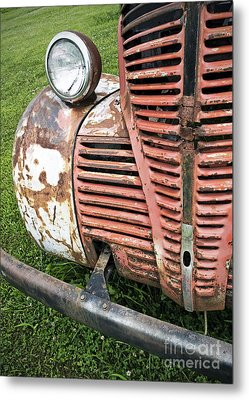 Grilled Metal Print by Glennis Siverson