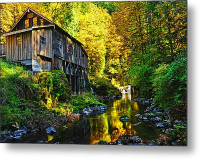 Metal Print featuring the photograph Grist Mill by Jim Boardman