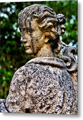 Gritty Profile Metal Print by Christopher Holmes