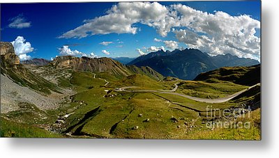 Grossglockner High Alpine Road Metal Print