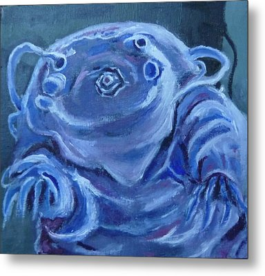 Ground Control To Major Tardigrade Metal Print by Jessmyne Stephenson