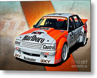 Group C Vk Commodore Metal Print by Stuart Row