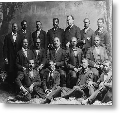 Group Portrait Of The Ministers Class Metal Print by Everett