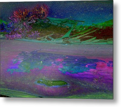 Metal Print featuring the digital art Grow by Richard Laeton