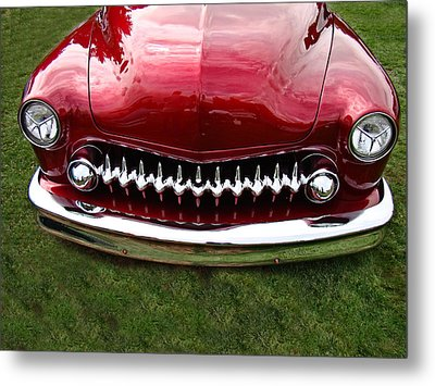 Metal Print featuring the photograph Grrrill by Nick Kloepping
