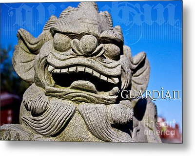 Guardian Metal Print by Extrospection Art