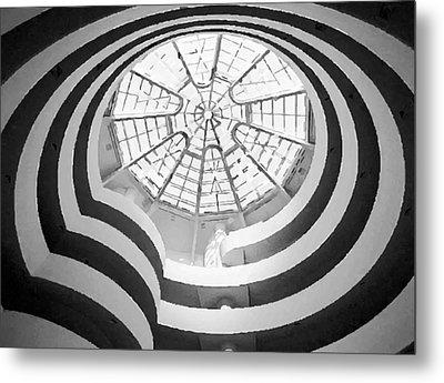 Guggenheim Museum Bw200 Metal Print by Scott Kelley