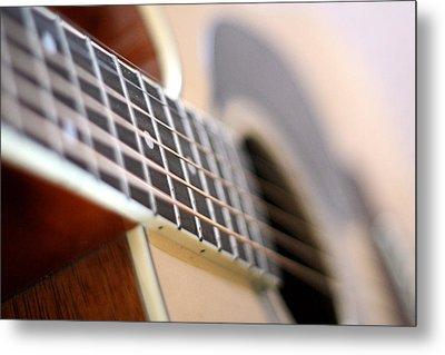 Guitar 1 Metal Print by James Iorfida
