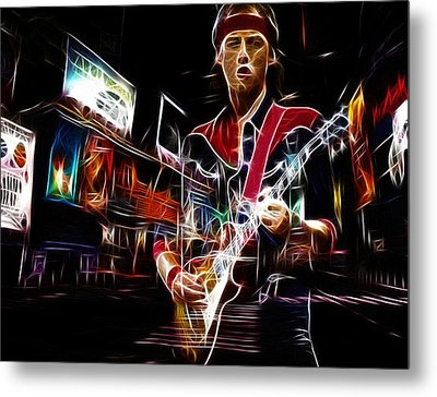 Guitar Hero Metal Print by Steve K