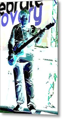 Guitarrist Metal Print by David Alvarez