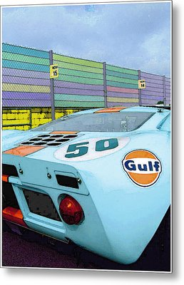 Gulf 50 Metal Print by Kenneth Breeze