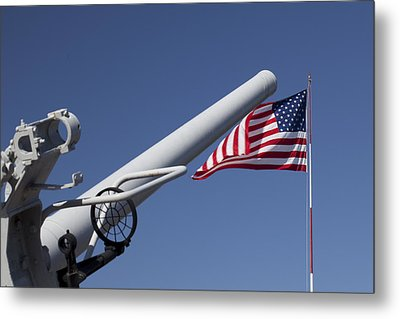 Guns And Glory Metal Print