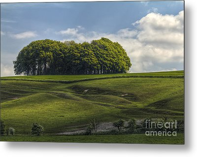 Metal Print featuring the photograph Hackpen Hill by Clare Bambers