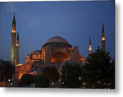 Hagia Sophia Metal Print by Cheri Randolph