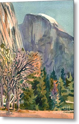 Half Dome Metal Print by Donald Maier