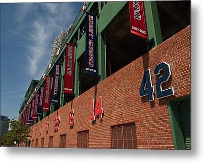 Hall Of Famers Metal Print by Paul Mangold