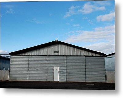 Metal Print featuring the photograph Hangar 2 The Building by Kathleen Grace