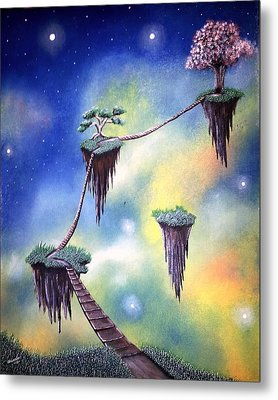 Hanging Together Metal Print by Edwin Alverio