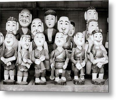 Hanoi Water Puppets Metal Print
