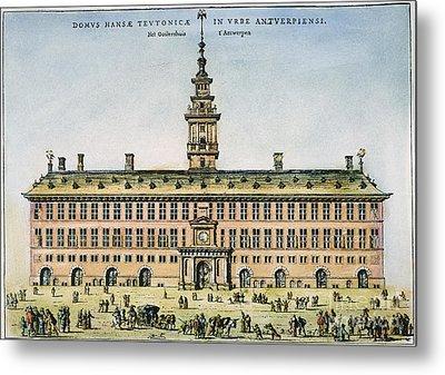 Hanseatic League, Antwerp Metal Print by Granger