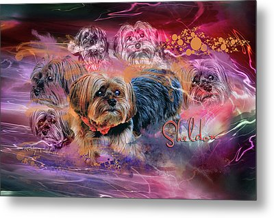 Happy 112 Years Old Metal Print by Kathy Tarochione