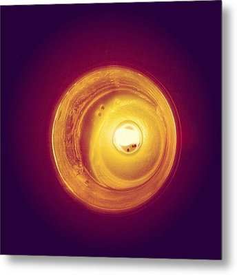 Happy Birthday #candle Metal Print