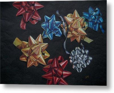 Happy Holidays Metal Print by Joanna Gates