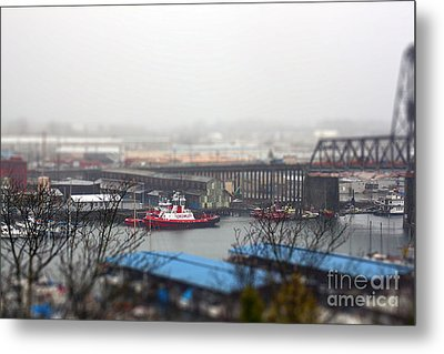 Harbor View Metal Print by Billie-Jo Miller