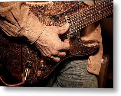 Hard Rock Metal Print