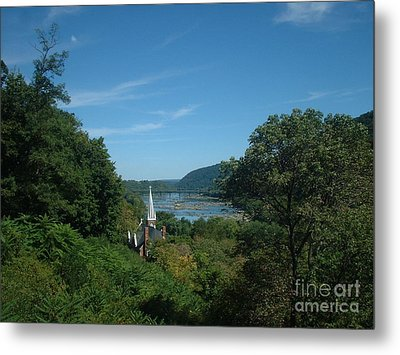 Harper's Ferry Long View Metal Print by Mark Robbins
