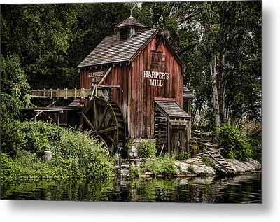 Harpers Mill Metal Print by Heather Applegate
